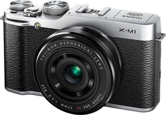Câmera Fujifilm X M1 Xm1 [corpo] Impecável Completa Na Caixa