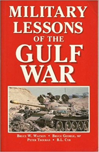Livro Military Lessons Of The Gulf War