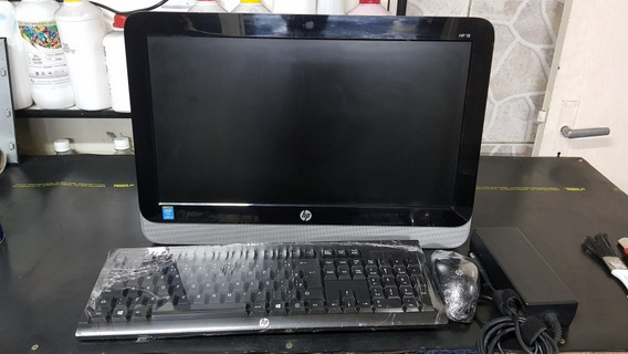 All In One Hp 19-2200br - I3 4150t - 4gb Ddr3 - 500gb Hd