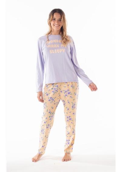 Pijama Juvenil Mariené Flores Invierno 2020