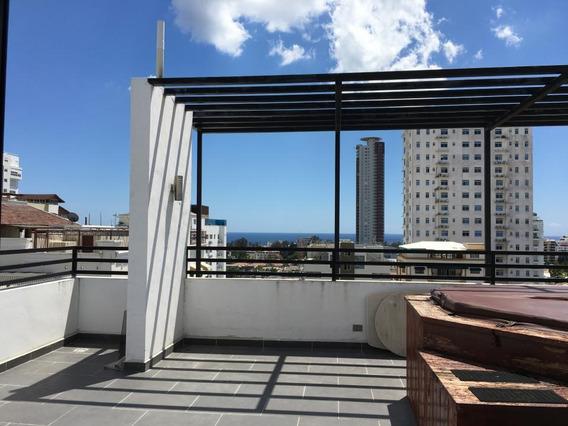 Penthouse En Bella Vista Con Vista Al Mar Y Estudio