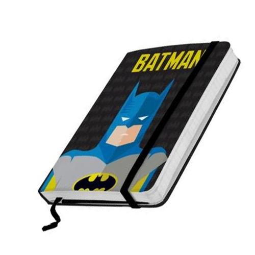 Caderneta De Anotação Papel Dc Batman Minimalista P
