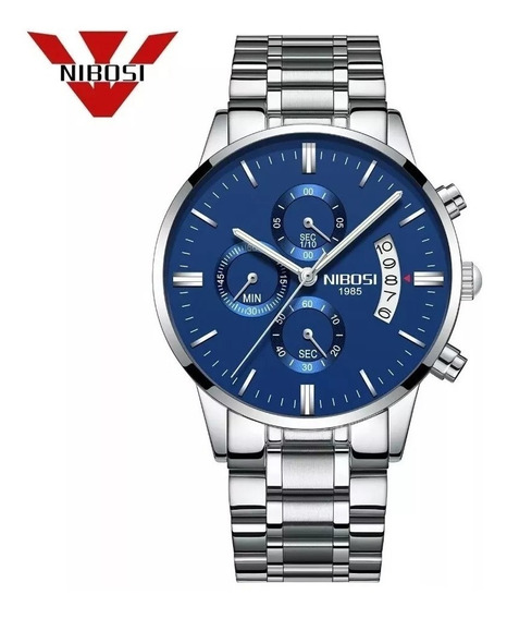 Relógio Masculino Nibosi Blindado Antirisco Oferta