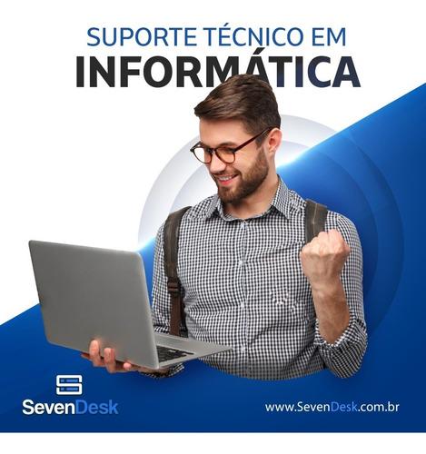 Imagem 1 de 5 de Suporte Técnico Em Informática - Sevendesk Tecnologia