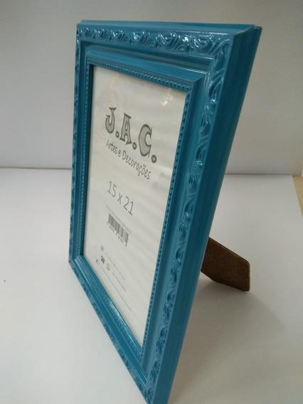 Porta Retrato Quadro 15x21 Luxo C/vidro Barato Várias Cores