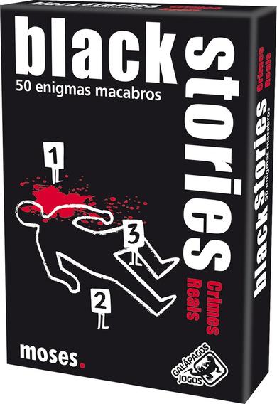 Card Game Black Stories Crimes Reais Em Português Galápagos