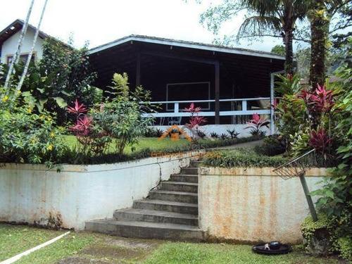 Casa Com 2 Dormitórios À Venda, 90 M² Por R$ 600.000,00 - Park Imperial - Caraguatatuba/sp - Ca0025