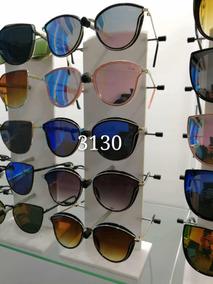 Kit 12 Óculos De Sol Verão Feminino Gato Starlight Espelhado