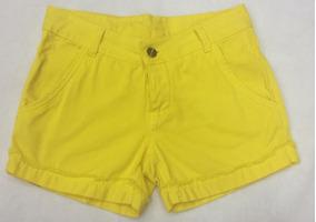 Revanche Short Sarja Amarelo 32970 Novo Com Tags