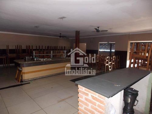 Salão Para Alugar, 200 M² Por R$ 4.800,00/mês - Jardim Paulista - Ribeirão Preto/sp - Sl0228