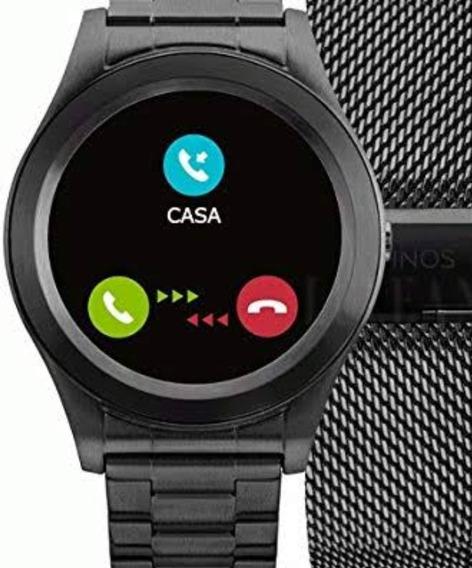 Relógio Technos Connect, Pouco Tempo De Uso. 02 Pulseiras.