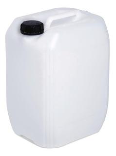 Bidon Plastico Blanco Con Tapa 20 Lts