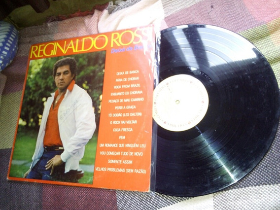 Lp Reginaldo Rossi- Deixa De Banca 1985