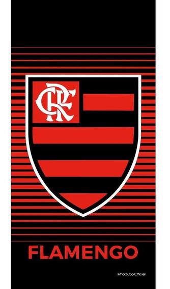 Toalha De Banho Praia Buettner Aveludada Flamengo 63796