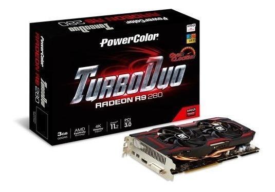 Placa De Vídeo Vga Powercolor Radeon R9 280x Oc 3gb Ddr5 384