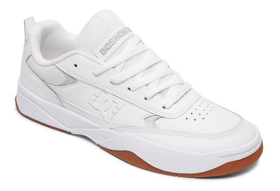 Tênis Dc Shoes - Penza - Branco Sola Marrom! Original!!!!