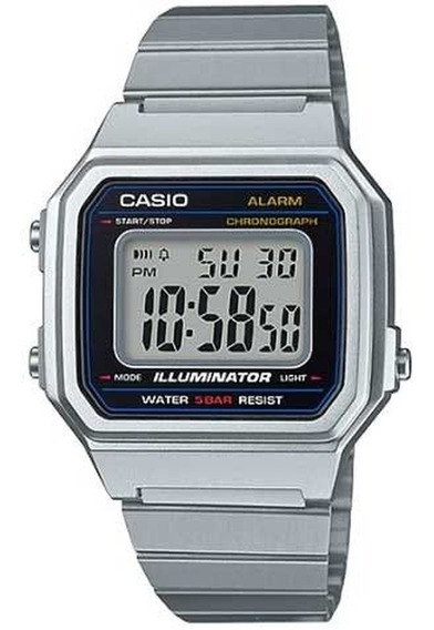 Relógio Unissex Casio Vintage B650wd-1adf Prata
