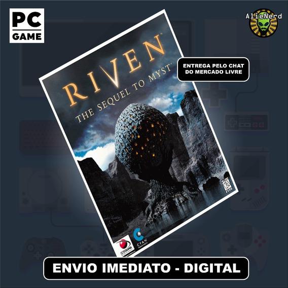 Riven The Sequel To Myst - Pc - Mídia Digital