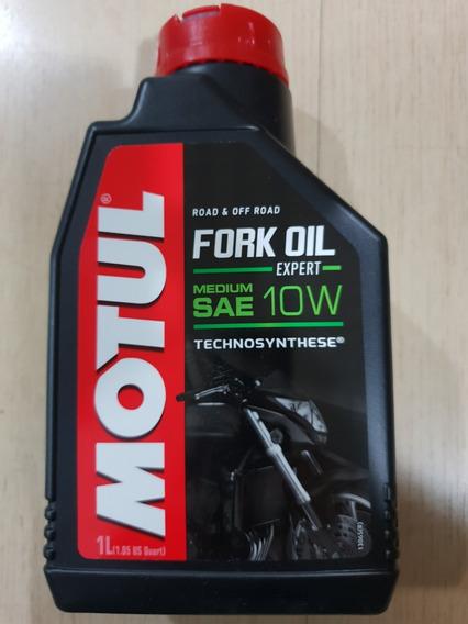 Óleo Suspensão P/ Motos Motul Fork Oil Expert Medium 10w 1lt