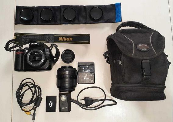 Câmera Nikon D5000 + Lente 18-105mm + Lente 18-55mm