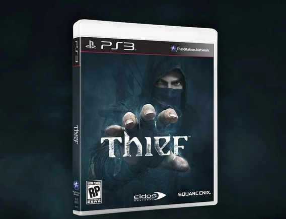 Jogo Da Square Enix Novo Lacrado Thief Para Playstation 3