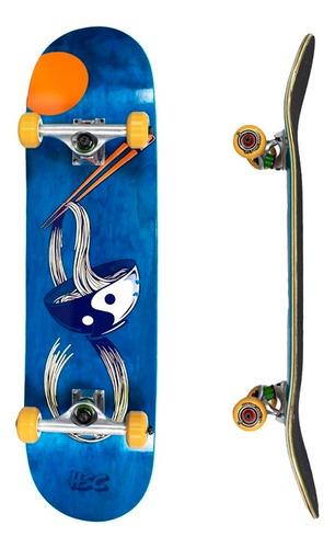 Imagem 1 de 4 de Skate Hondar Semi Profissional 8.0  Blue