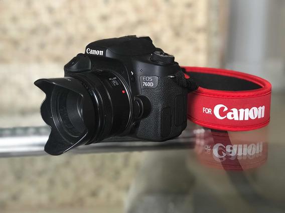 Câmera Dslr Cânon T6s 760d + Lente 50mm