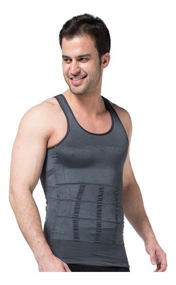 Camiseta Faja Reductora Playera Modeladora Abdomen De Hombre