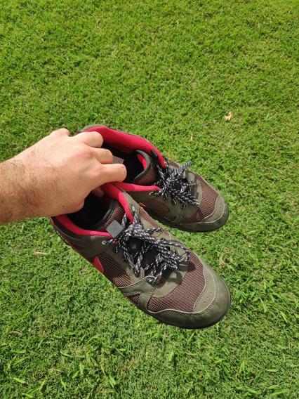 Oferta Zapatillas Nike Acg Verdes, Rojas Y Negras Talle 40.5