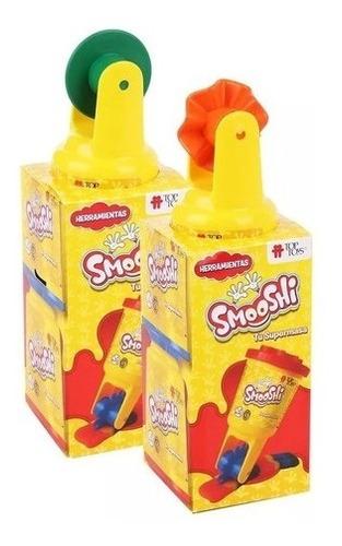 Imagen 1 de 3 de Smooshi Juego De Masa Mix Herramientas X2 Potes Top Toys