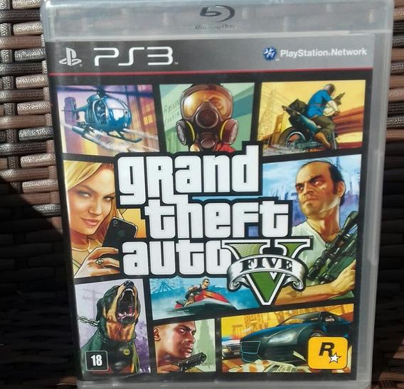 Gta 5 Ps3 Mídia Física Novo Português Grand Theft Auto V