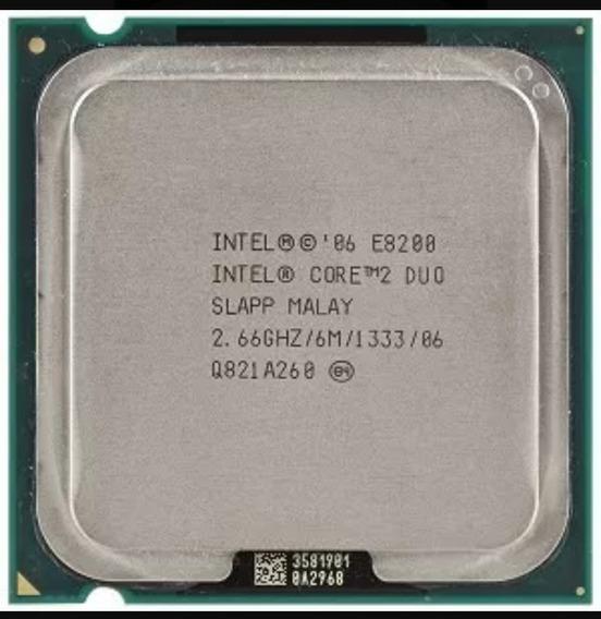 Processador Intel 775 Core 2 Duo E8200 Fsb1333 Frete Grátis