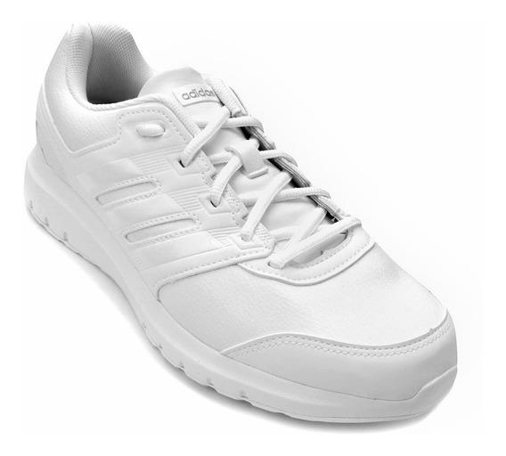Tênis adidas Couro Branco Duramo Lite Original Bronxsports