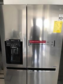 Refri Nevera Lg 601ltrs De 22 Con Dispensador De Hielo