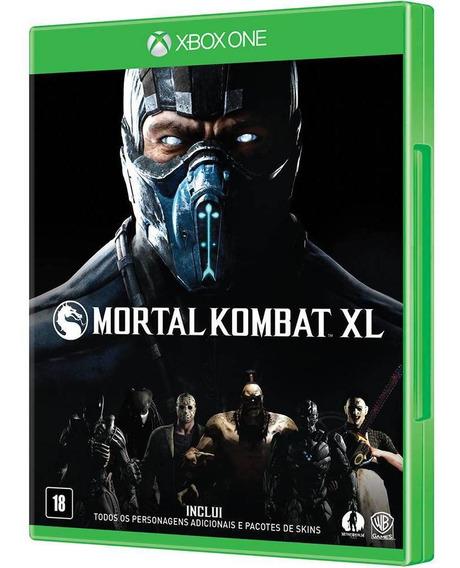 Mortal Kombat Xl Xbox One Midia Fisica - Novo - Lacrado