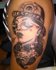 Estudio Profesional Del Arte Del Tattoo