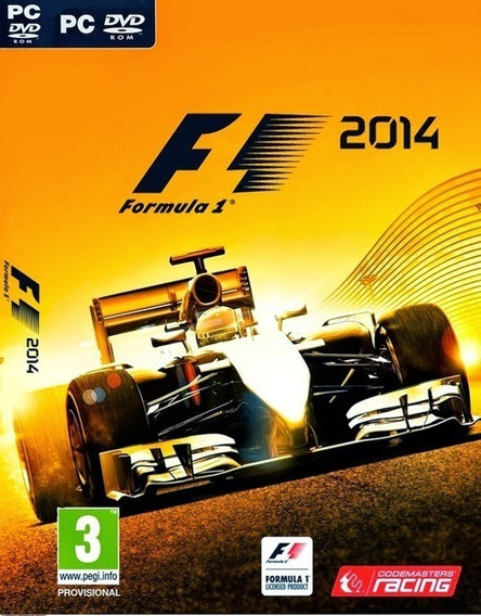 F1-formula 1 2014 Pc Em Português Frete Gratis!