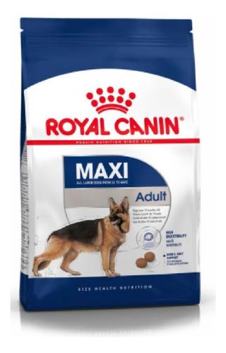 Imagen 1 de 1 de Comida Para Perros Royal Canin Maxi Adulto 15 Kg