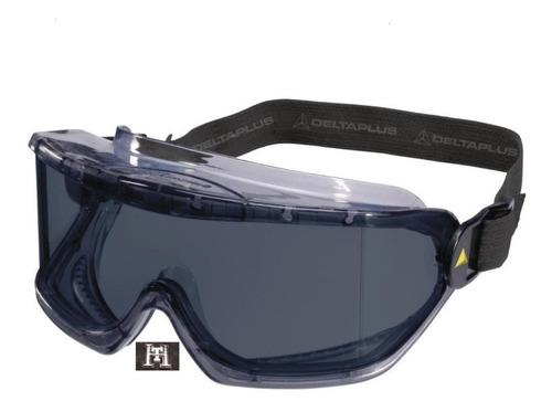 Imagen 1 de 9 de Antiparra Gafas Protectora Delta Plus Galeras Ahumado X 3 Un