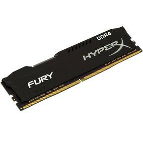 Memória Kingston Hyperx Fury Ddr4 2666mhz 16gb Hx426c16fb/16