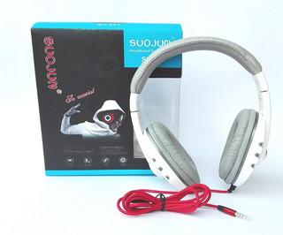 Headphone Fone De Ouvido Usb Micro Suojun Sj-522 - Jl-100
