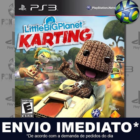 Littlebigplanet Karting Ps3 Psn Jogo Em Promoção