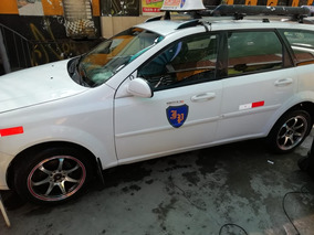 Venta Taxi Station Wagon Chevrolet Optra 2012
