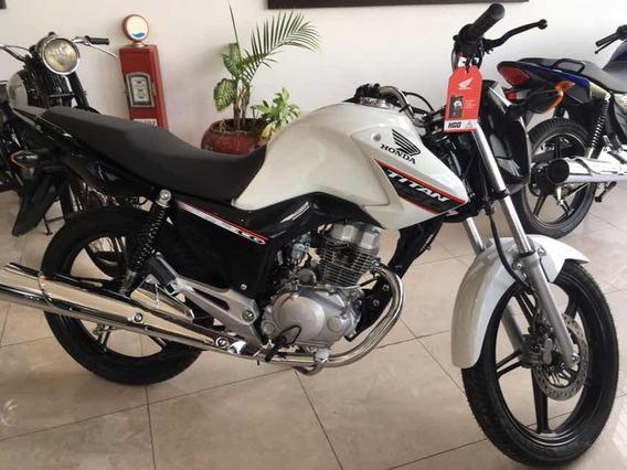 Honda Cg Titan 150 Okm 2020 Tomamos Motos Usadas!!!
