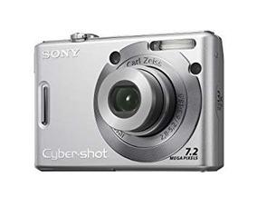 Câmera Sony Cybershot 7.2mp - Dsc-w35 + Carregador Manual