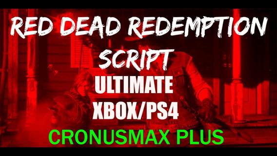 Ultimate Red Dead 2 Script Aim Assist+mods Cronusmax Xboxps4