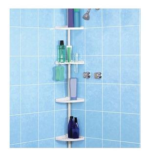 Esquinero Porta Accesorios Baño Regadera Repisas Ajustable