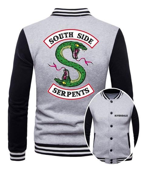 Jaqueta College Masculina Riverdale Southside Serpents