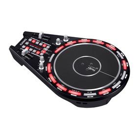 Controlador Dj Casio 2 Canais Xwdj1 C/ Disco Trackformer Usb