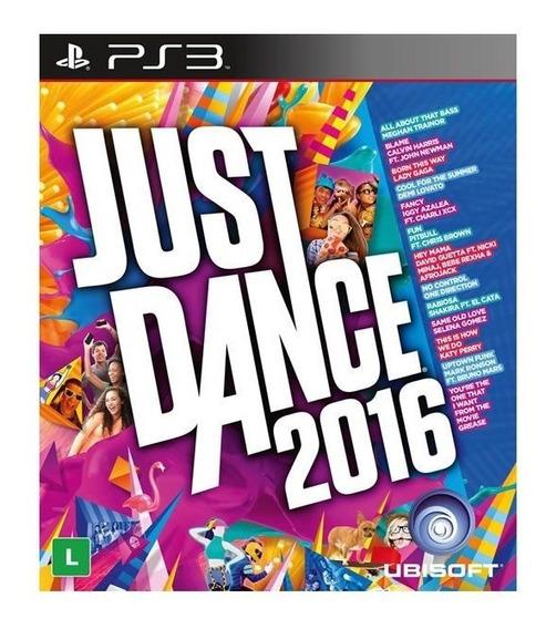 Just Dance 2016 - Ps 3 / Mídia Física / Lacrado / Original